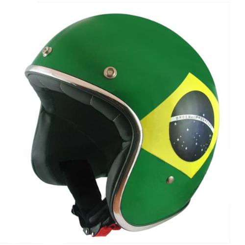 Jethelm MT Le Mans flag Brazil