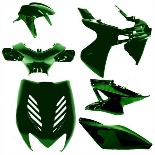 Kappenset Yamaha Aerox 8 delig groen