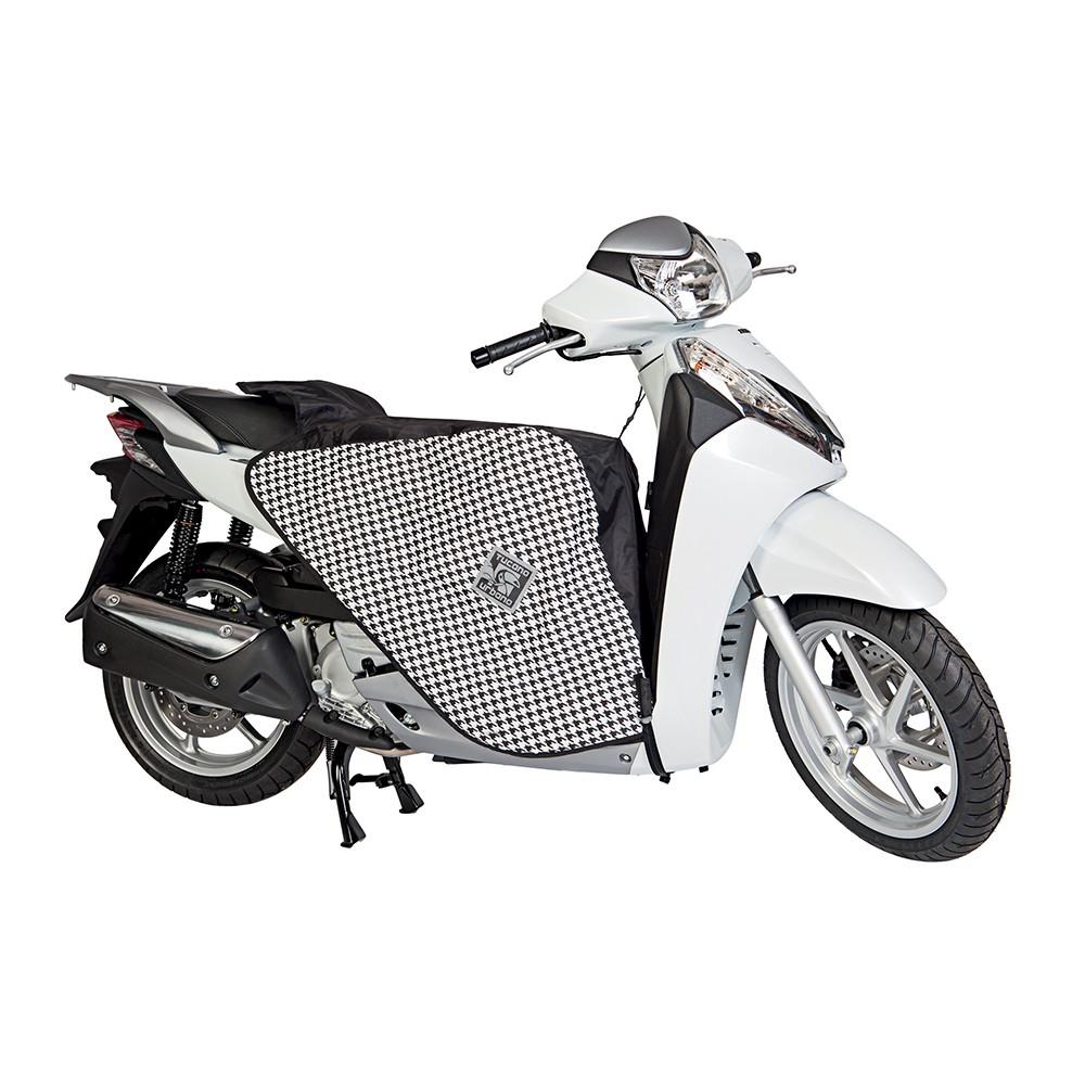 Beenkleed Tucano Urbano Thermoscud R010 zwart/wit (passend op ieder type scooter)