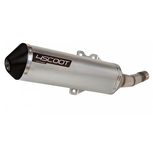 Uitlaat Piaggio Quartz 125-200cc (watergekoeld) Tecnigas 4Scoot CE